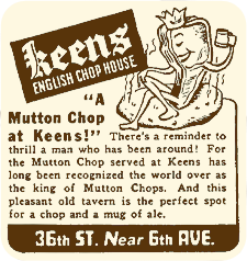 Mutton Chop Advertisement